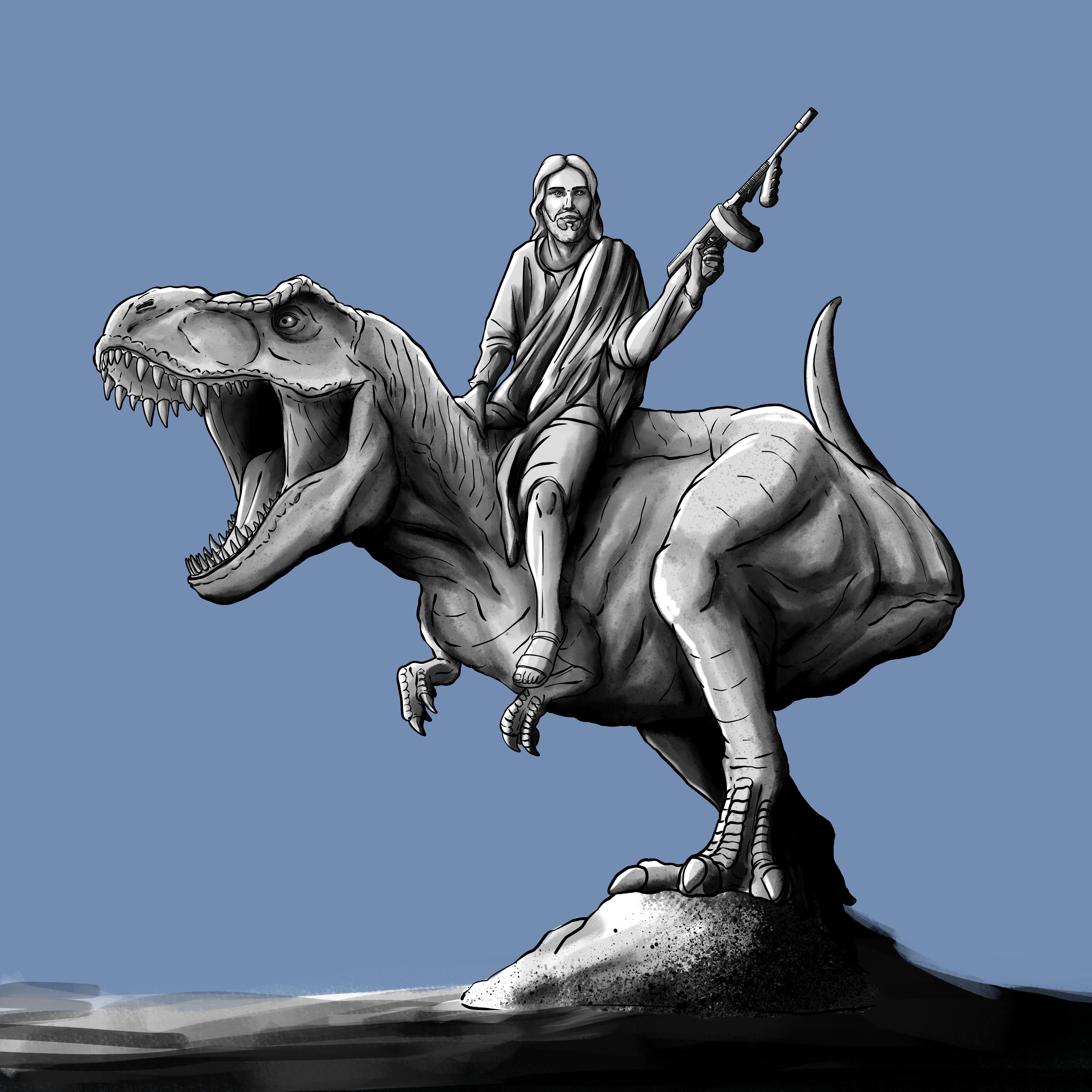 Jesus Rode a Dinosaur